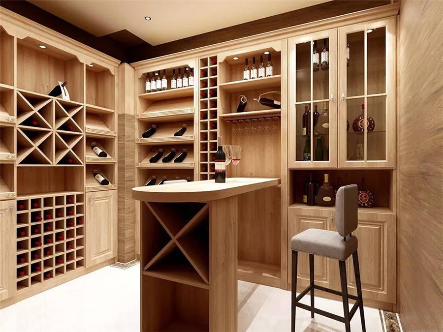 新中式-酒柜